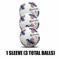 TAYLORMADE TP5 PIX GOLF BALLS STARS AND STRIPES NEW 2019 - 1 SLEEVE (3 BALLS)