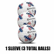 TAYLORMADE TP5 PIX GOLF BALLS STARS AND STRIPES NEW 2019 - 1 SLEEVE (3 BALLS)