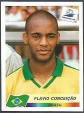 Panini Copa Del Mundo Francia 1998- #023-BRASIL-BRAZIL-FLAVIO Conceicao