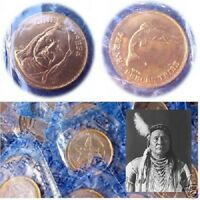 Chief Joseph: Nez Perce.  Rugged Americans Coin. Franklin Mint. New, Sealed!