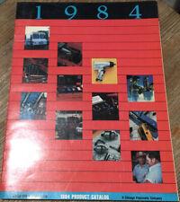 Vintage 1984 Matco Tools Corporation Product Catalog Chicago Pneumatic Company