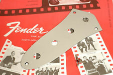 Genuine Fender '60s Vintage Style Jazz Bass Four Hole Control Plate 0992057100