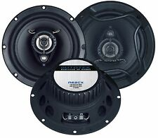 "Autotek 6.5"" 17cm New 2 way car audio door shelf speakers pair 400W Total Power"