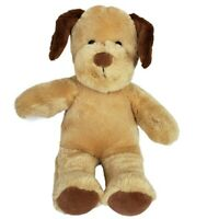 Build A Bear Golden Brown Dog Plush Stuffed Animal Doll Toy 16""