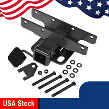 """2""""Rear Towing Trailer Hitch Receiver for 2018-2020 Jeep Wrangler JL/JLU W/ Plug"""