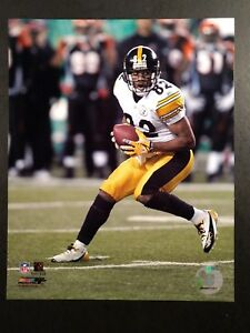 ANTWAAN RANDLE EL 2005 PLAYOFF 8X10 ACTION PHOTO #2 Pittsburgh Steelers