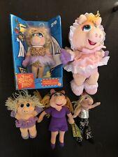 Miss Piggy Muppets Plush Lot