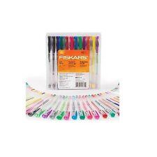 48 x Fiskars 0.8 mm Glitter/ Neon/ Metallic and Swirl Medium Point Gel Pens Set