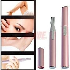 Electric Micro Personal Groomer Travel Ear Nose Neck Eyebrow Hair Trimmer Shaver