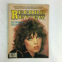December 1980 Record Review Magazine  Pat Benatar Rock's Reluctent Sex Symbol