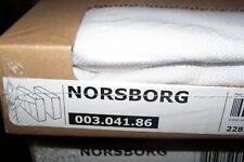 New Ikea NORSBORG armrest Covers in Finnsta white