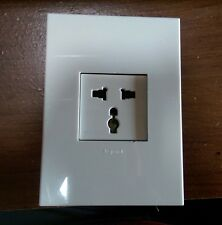 *NEW* Legrand Arteor Multistandard Socket Oulet  2P+E  2 MOD Unswitched 5721 23