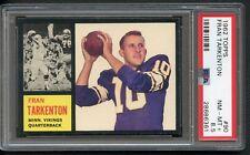 1962 Topps Fran Tarkenton #90 Rookie HOF PSA 8.5 Vikings High End
