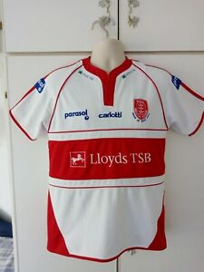 Hull KR Rugby League Shirt 2008 Carlotti Size S Small