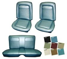 1968 Cougar Front & Rear Standard Upholstery Set in Your Choice of Colors