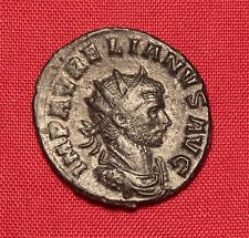 Ancient Roman Aurelianus Silvered Antoninian, Extra Patina!