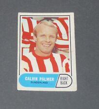 A & BC GUM CARD FOOTBALL ENGLAND 1969 CALVIN PALMER SUNDERLAND BLACK CATS