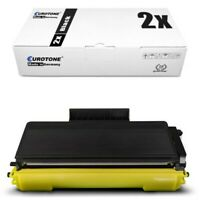 2x Eurotone Eco Cartucho XXL Compatible para Brother HL-5370-DW HL-5380-D