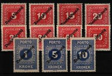 Ungebrauchte Briefmarken mit Falz-Ungarn Österreich (1867-1918)