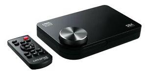 Creative SB X-Fi Surround 5.1 Pro v3 Sound Blaster USB External Sound Card