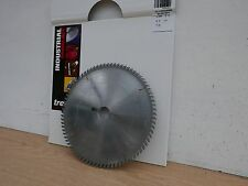 TREND INDUSTRIAL 250MM X 30MM BORE 80T TCT TABLE TRIMMING SAW BLADE IT/90106106
