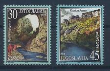 Jugoslawien 3031/32 postfrisch / Cept (846) ....................................