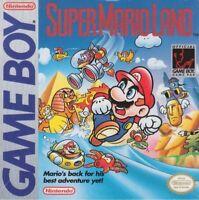 Super Mario Land Nintendo Game Boy