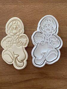 Luigi (2) Cookie Cutter Super Mario