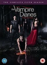 The Vampire Diaries - Season 5 [DVD] [2014] Complete Fifth Series NEW REGION 2