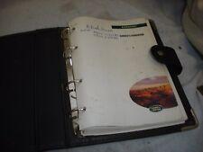 Discovery 1 300 Tdi & V8 Owners Handbook Manual Genuine Folder LRL 0011ENG
