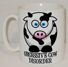 Obsessive Kuh Disorder Becher Kann Personalisiert Werden Lustig Tierliebhaber