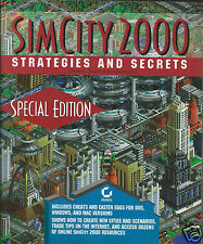 SimCity 2000 Strategies and Secrets Paperback Book Daniel Tauber Brenda Kienan