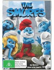 THE SMURFS DVD SMURFTASTIC FAMILY FAVOURITE ANIMATION (NEW & SEALED)'R4