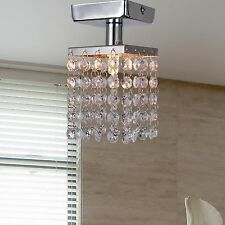 LED Crystal Ceiling Light Corridor Lighting Hallway Rain Drop Light Ceiling Lamp
