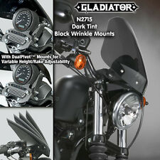 HARLEY XL883N IRON GLADIATOR WINDSHIELD DARK TNT BLACK MNTS N2715 NIB