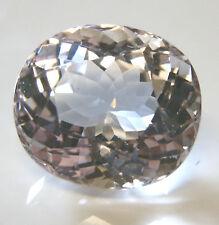 Large natural earth-mined Morganite (pink aqua)...oval cut ...14 carat