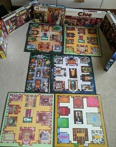 Clue Game Replacement Board for 1979, 1986, 1992, 1997, 2015 and Clue Jr.