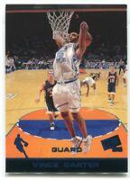 1998 Press Pass Blue 4 Vince Carter Rookie