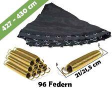 Trampolin Sprungmatte 427 für 96 V-Ringen und federn lange 21 cm | Sprungtuch