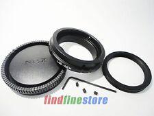 black Adapter for Leica L39 M39 Lens to Sony E NEX 3 NEX 5 NEX 7 NEX C3 5N + CAP