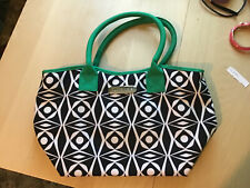 tupperware deca vibe lunch bag EUC navy kelly green white
