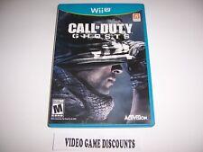 Original Box Case for Nintendo Wiiu Wii U Call of Duty Ghosts COD