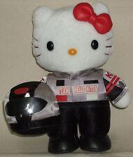 "Hello Kitty Suzuka Bike F1 Racer 7.9"" 20mc Plush Dolls Kawaii Sanrio 2002 NWT"
