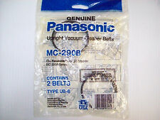 Genuine Panasonic MC-290B 2Belts- Made In USA-MC-9900 Series-UB-6-Kenmore 5286