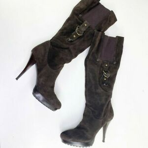 GUESS Stiletto Suede Boots for Women for saleeBay