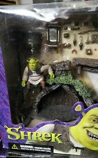Sealed McFarlane Toys Shrek - Swamp House Action Figures Set Playset Rare Vhtf