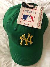 ORIGINAL NY BASEBALL HAT / CAP - GREEN. BRAND NEW AND TAGGED.