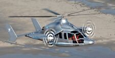 Eurocopter X3 Hybrid Compound Helicopter Handcrafted Wood Model Large New