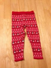 Girls Christmas Leggings Warmers - Young Dimensions  - 18-24 months