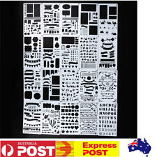 Home Templates Stamp Paper Card Stencils Scrapbooking Multi Style Diy Children Pp